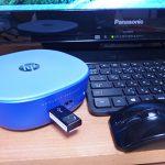 HP Stream Miniをテレビにつなげてインターネット接続・WiFi接続してみた。