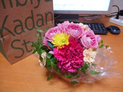 日比谷花壇フェイラーuchinoセットの花