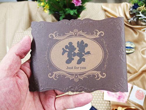 日比谷花壇ディズニーミッキー&ミニー3Dカード