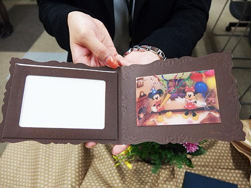 日比谷花壇クリスマスディズニーミッキー&ミニー3Dカード
