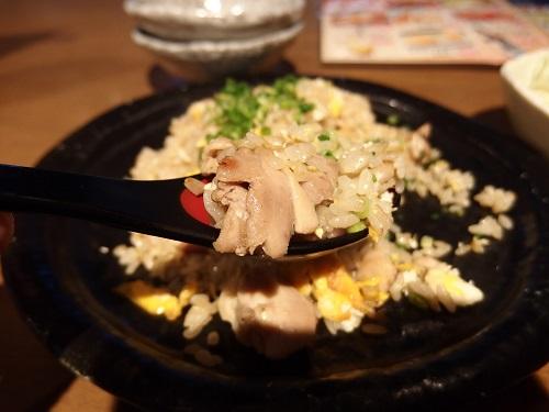 鶏チャーハン