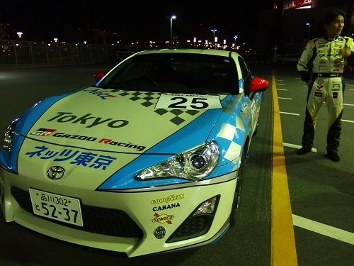 田ヶ原選手が実際に86レースで使用した車両。