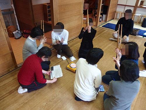朝日カルチャーセンター新宿「古代歌謡」「古代を舞う・右舞」合同発表会