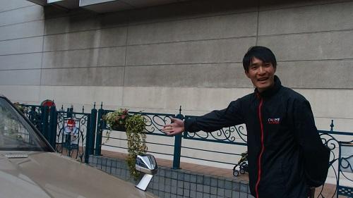 ソアラのドライバーの石澤選手