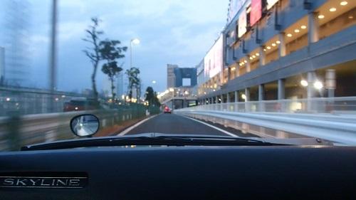 お台場MEGA WEB メガウェブ ヒストリック・カー同乗試乗会日産2000GT-R