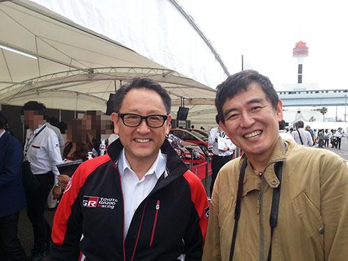 モータースポーツジャパンMOTORAPORTJAPAN2016豊田章男社長TOYOTAGAZOORACING