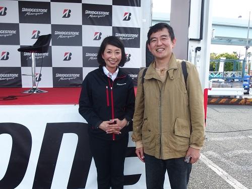 モータースポーツジャパンMOTORSPORTJAPAN2016ブリジストントークショーMC