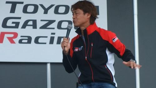 モータースポーツジャパンMOTORAPORTJAPAN2016脇阪監督TOYOTAGAZOORACING