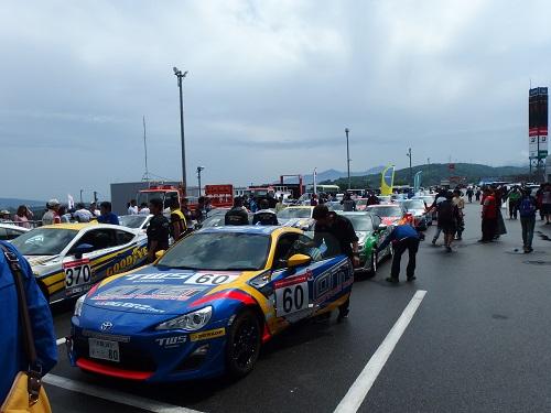 富士スピードウェイワンメイク祭り86プロ決勝