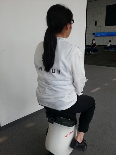 日本科学未来館HONDAUNICUB