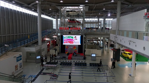 お台場MEGAWEBメガウェブ1億人達成記念イベント