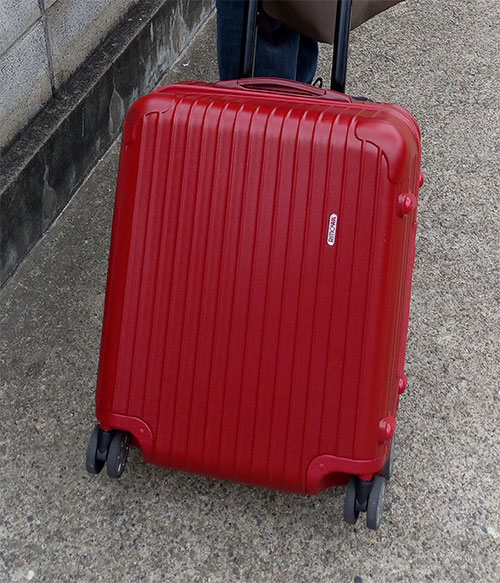 リモワ RIMOWA 【4輪】 サルサ デラックス スーツケース マルチ 【Salsa Deluxe 】 Multiwheel Orient Red オリエント レッド 47L みたい。