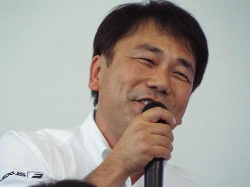 解説のチャンプ★FUJITAさん