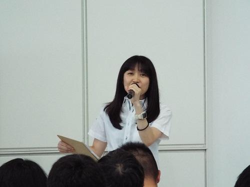 MCの山下亜紀子さん