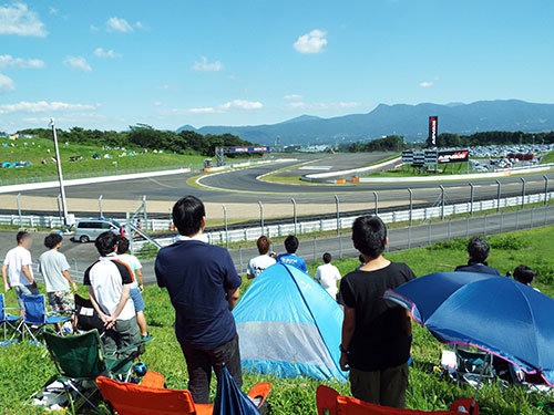 はじめての富士スピードウェイSuperGT観戦