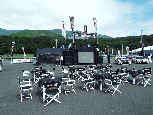 富士スピードウェイスーパー耐久86Vitzイベントスペース