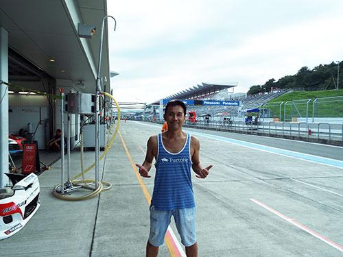 富士スピードウェイスーパー耐久予選2016年9月3日BIZCUBE田ヶ原章蔵選手