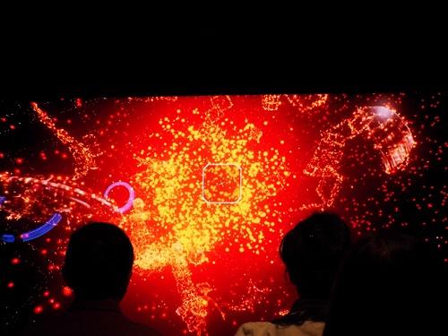 水口さんが制作したゲームの映像。