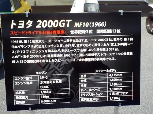 お台場メガウェブDDDLトヨタ2000GT MF10(1966)