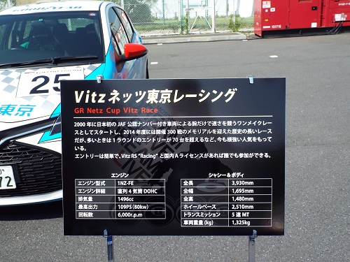 お台場メガウェブDDDL Vitzネッツ東京レーシング