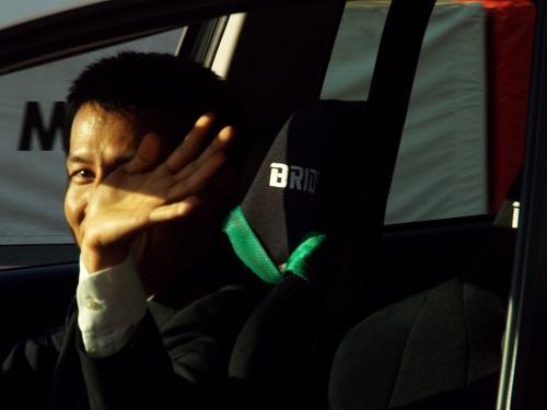 ドライバー水谷大介選手