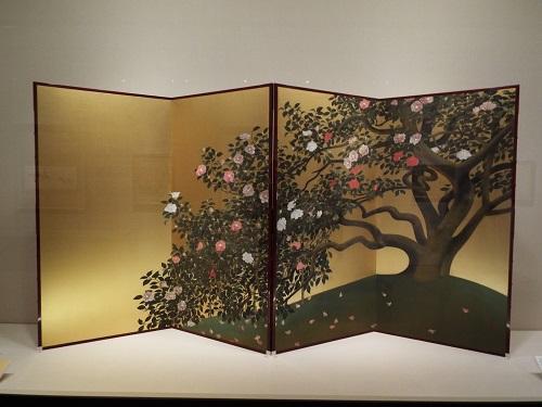 《名樹散椿》【重要文化財】1929(昭和4)年 山種美術館