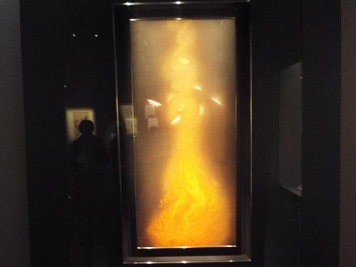 《炎舞》【重要文化財】 1925(大正14)年 山種美術館