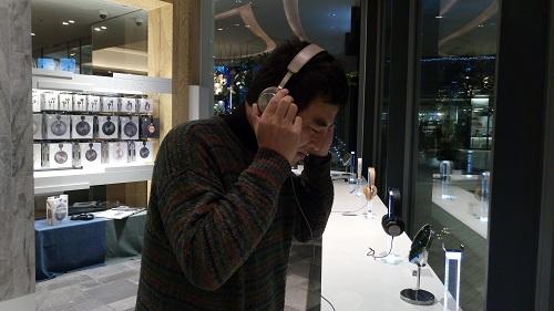 バング&オルフセンBANG&OLUFSEN二子玉川Beoplay H8 Bluetooth対応ワイヤレスヘッドフォン