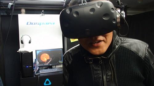 「VR、最高です!」