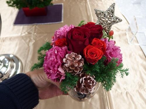 日比谷花壇クリスマスアレンジメントアマ・デ・トワール