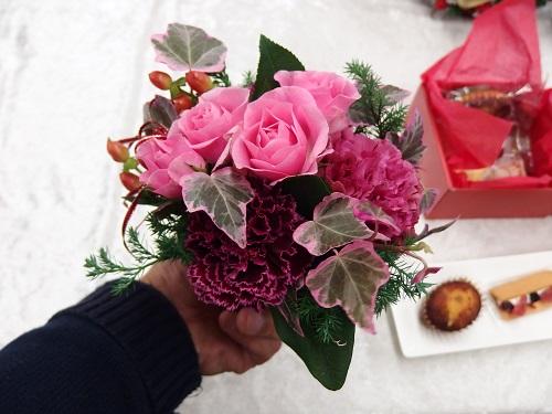シーキューブ「ハッピースウィートアソートのセット」日比谷花壇クリスマス