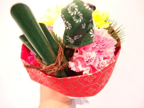 日比谷花壇お正月そのまま飾れるブーケ「門松」