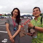 スーパー耐久の事務局長 桑山晴美さんにお会いできた。