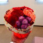 大人気商品~そのまま飾れるブーケ「花結び」~日比谷花壇敬老の日イベント